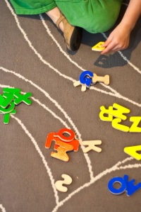 One Activity, Many Ways: Wooden ABC Puzzle | San Antonio Baby Sign Language Classes