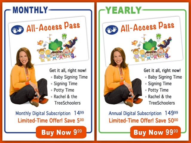 NEW: Two Little Hands Digital Subscriptions (& Giveaway!) | Lone Star Signers, San Antonio, Texas