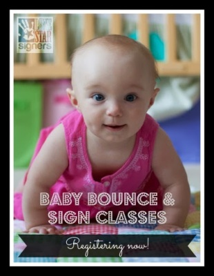 San Antonio Baby Bounce & Sign Classes Registering NOW!