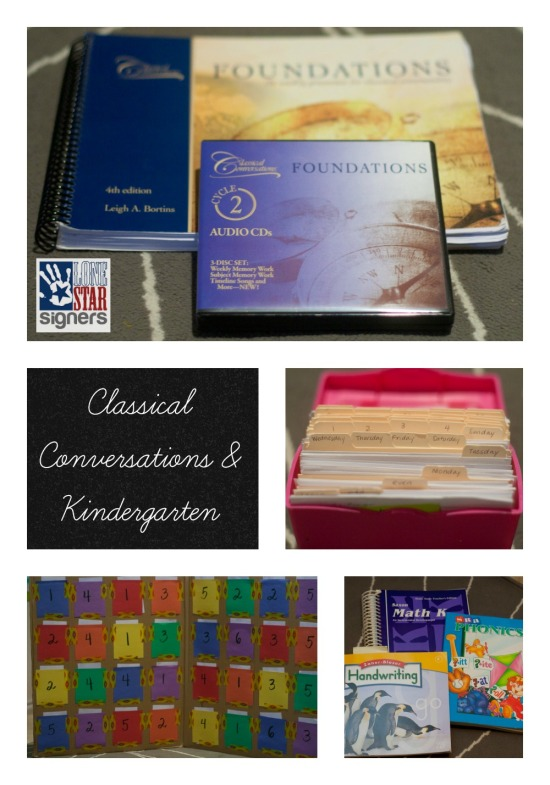 Classical Conversations and Kindergarten | Lone Star Signers