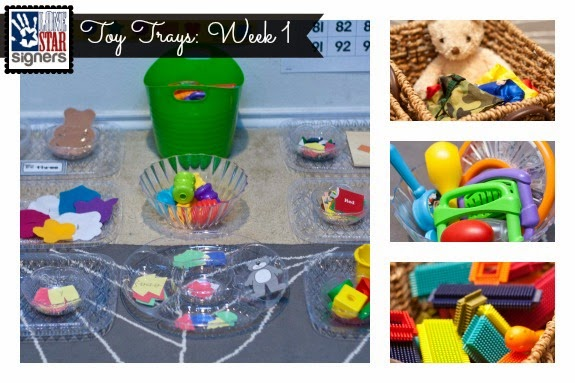 Tot Tray Wednesday #1 | Lone Star Signers