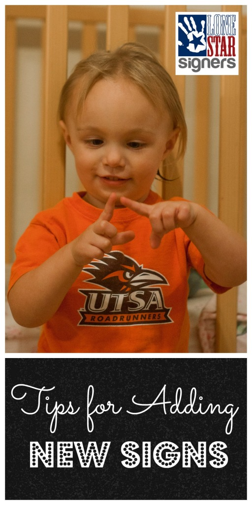 Tips for Adding New Signs   Baby Sign Language Classes * San Antonio, Texas