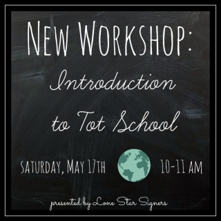 Introduction to Tot School Workshop | San Antonio, Texas