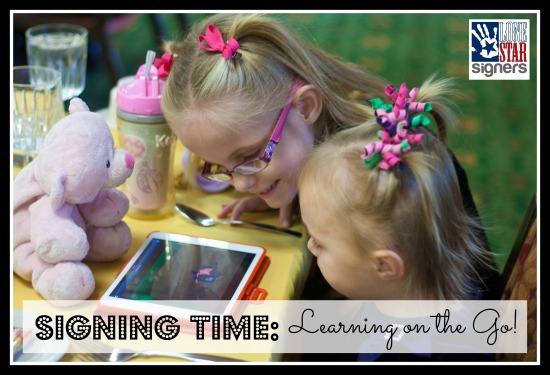 Signing Time Digital Subscription: Learning on the Go!