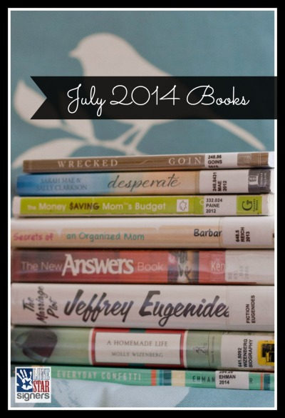 What I'm Reading: July 2014 (Lone Star Signers)