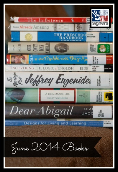 What I'm Reading: June 2014  (Lone Star Signers)