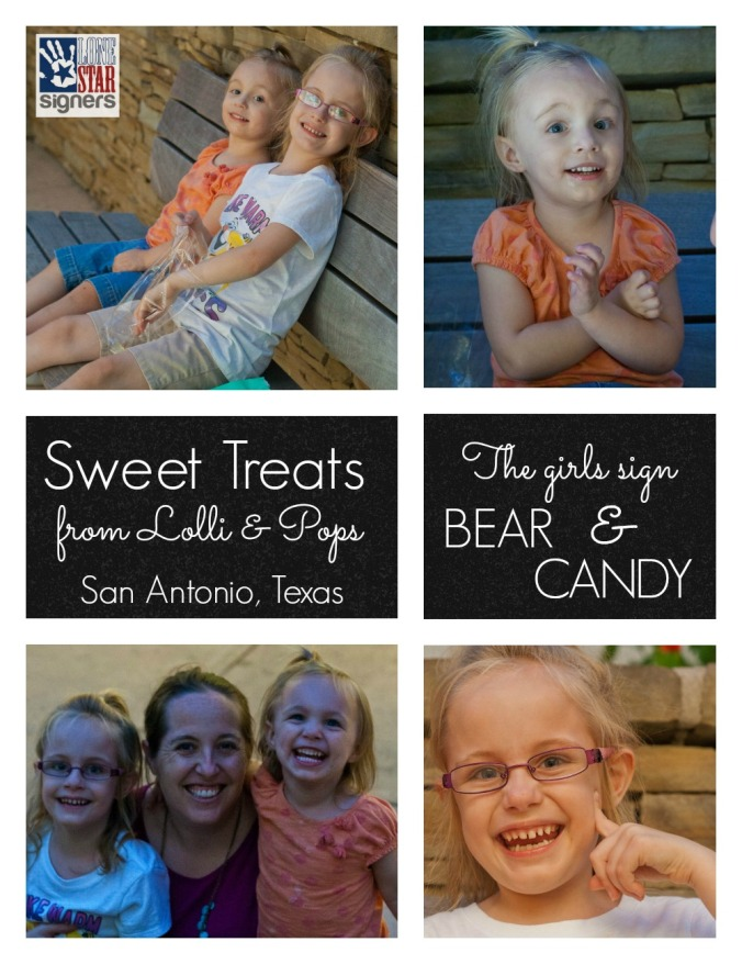 Sweet Treats from Lolli & Pops | Lone Star Signers