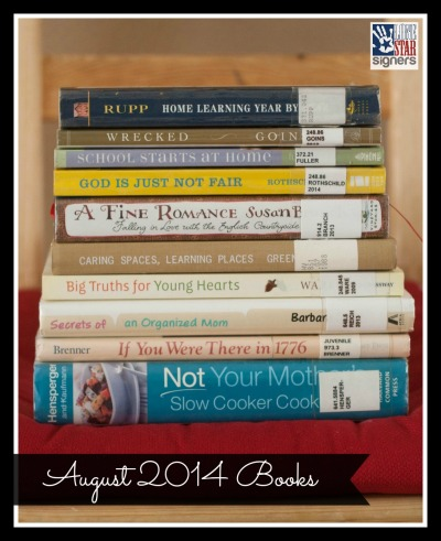 What I'm Reading: August 2014 (Lone Star Signers)
