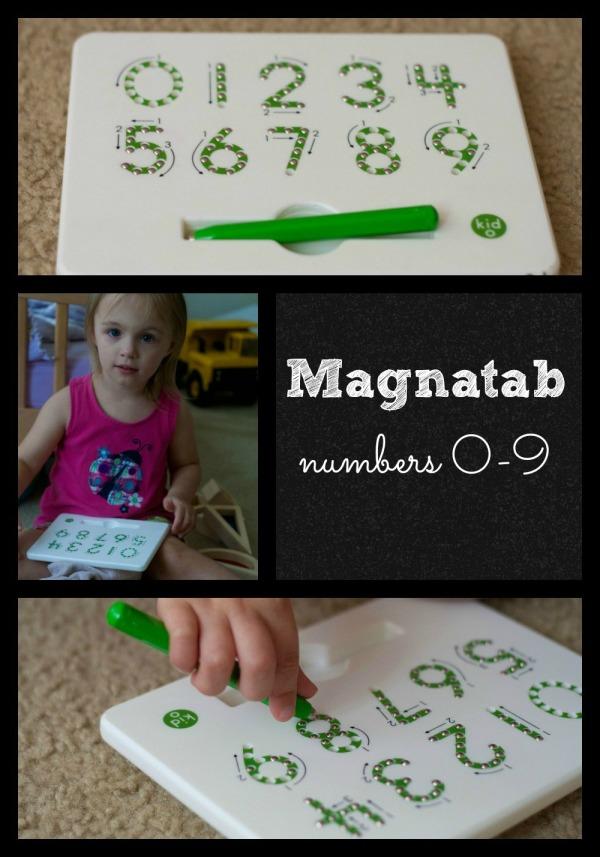 O Kids: Magnatab Numbers 0-9 | Lone Star Signers