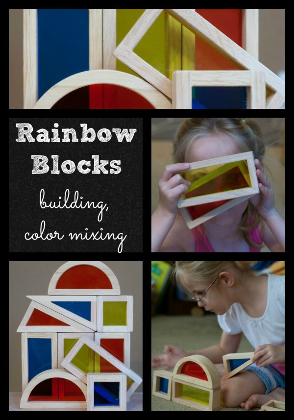 Rainbow Blocks from Sparkbox Toys | Lone Star Signers