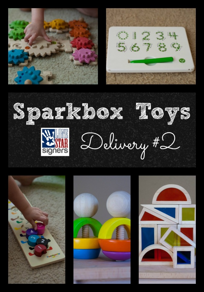 Sparkbox Toys Delivery #2 | Lone Star Signers