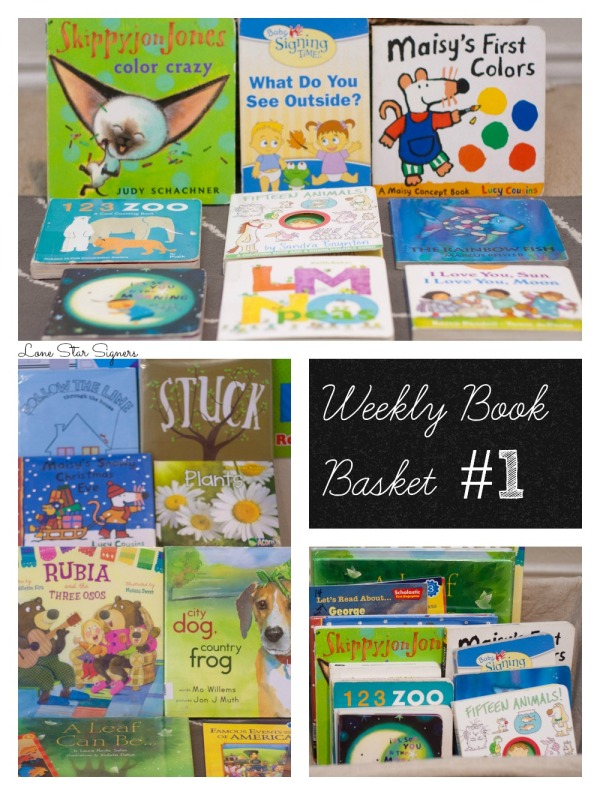 Lone Star Signers: Weekly Reading Basket #1