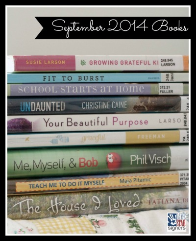 What I'm Reading: September 2014 (Lone Star Signers)