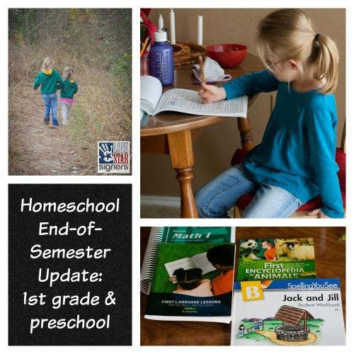 Lone Star Signers Homeschooling Update: 1st grade