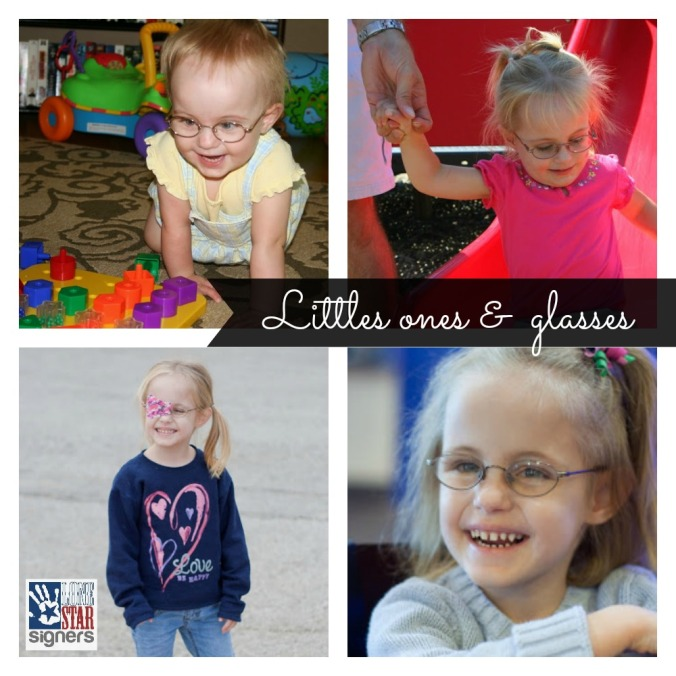 Eye Appointments for Little Kids: Our Story (glasses, patching, and more) from Lone Star Signers