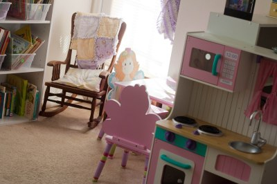New play area in our daughters' room |Lone Star Signers