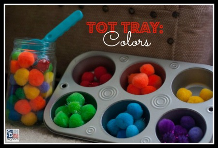 Simple Tot Tray: Colors | Lone Star Signers