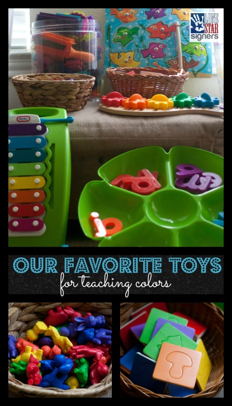 Our Favorite Toys for Teaching Colors to Toddlers and Preschoolers | Lone Star Signers