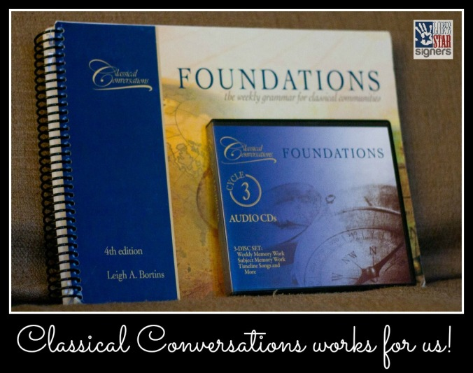 Classical-Conversations Works for Us! from Lone Star Signers
