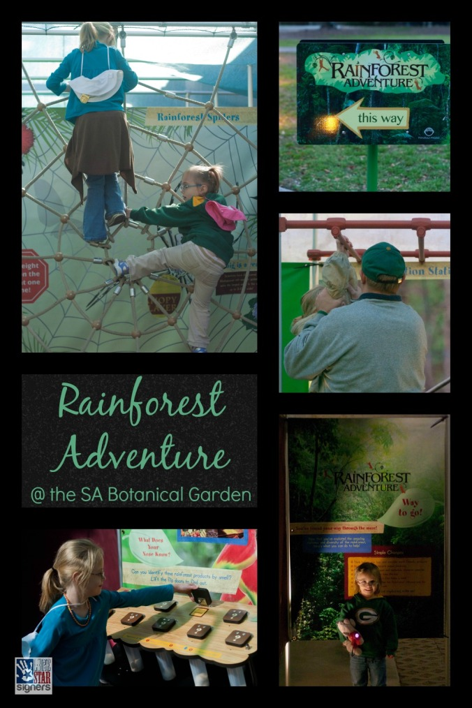 The NEW Rainforest Adventure Exhibit at the San Antonio Botanical Garden | Lone Star Signers