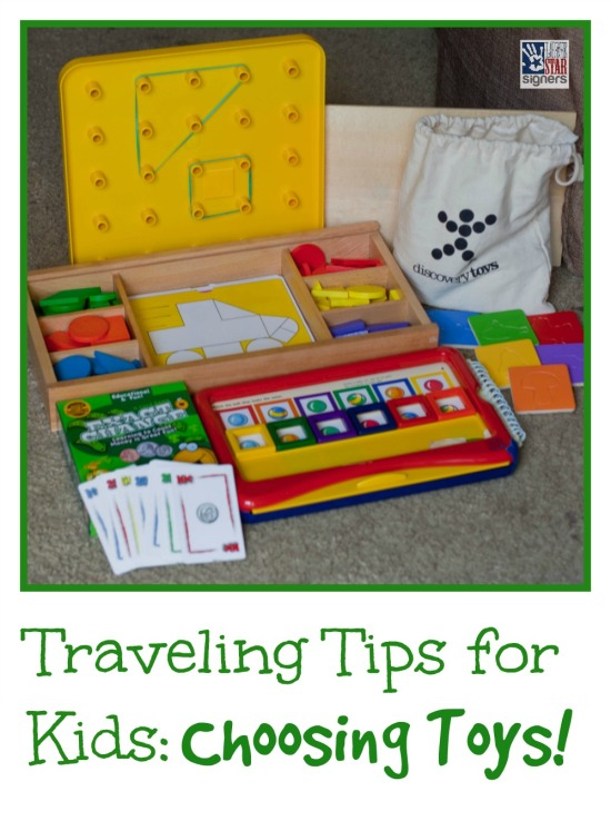 Traveling Tips for Kids: Choosing Which Toys to Bring Along!