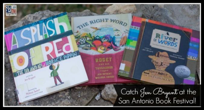 Catch Jen Bryant at the San Antonio Book Festival | April 11, 2015