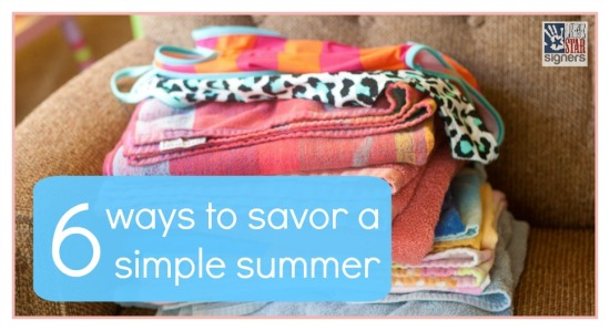 Six Ways to Savor a Simple Summer from Lone Star Signers