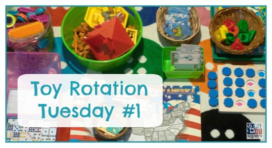 See what we're playing with! Toy Rotation Tuesday #1 with Lone Star Signers