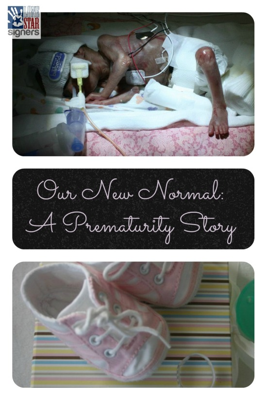 Our New Normal: A Prematurity Story from Lone Star Signers | Unmet Expectations & Second Chances