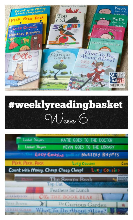 See what our kiddos are reading this week and join us with the #weeklyreadingbasket hashtag!