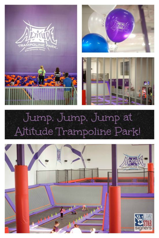 Jump, Jump, Jump at Altitude Trampoline Park {giveaway} | Lone Star Signers, San Antonio, TX