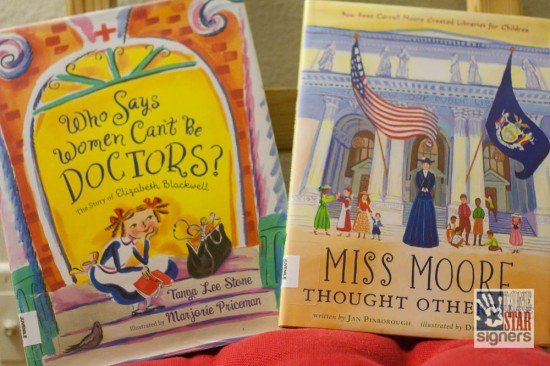 Great biographies for young readers from Lone Star Signers!