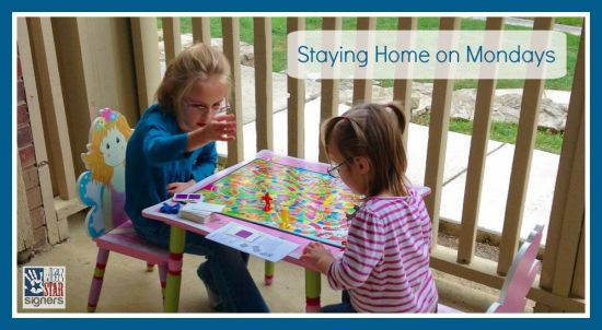 Homeschooling: Why We Stay Home on Mondays