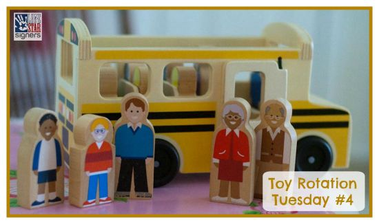 Check out this week's toy rotation picks! [Lone Star Signers]