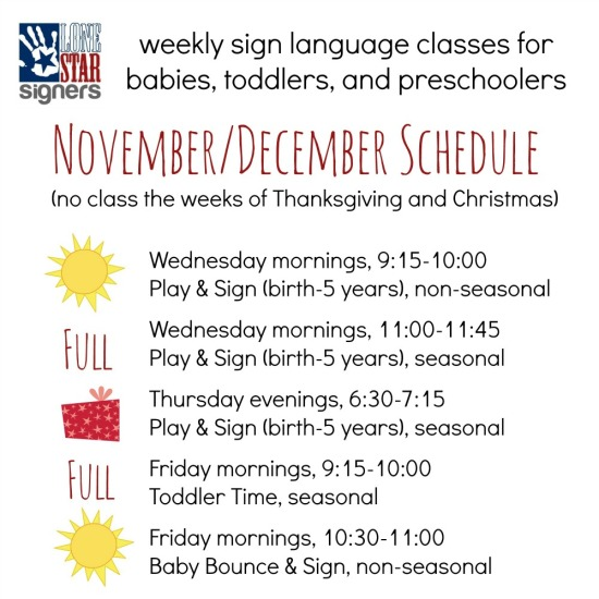 Fall Schedule2