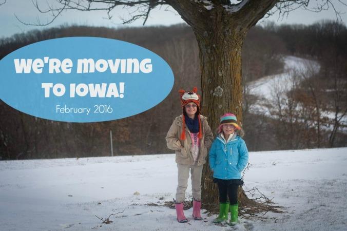 Moving to Iowa