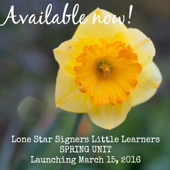 Little Learners Spring Unit March 2016-Available