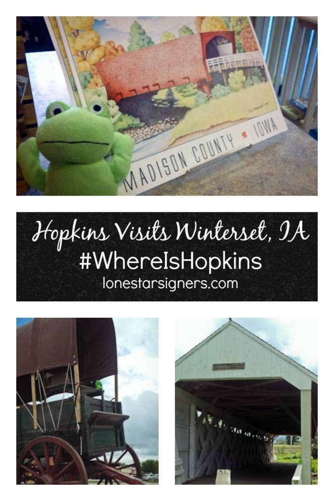 #WhereIsHopkins--Winterset, Iowa